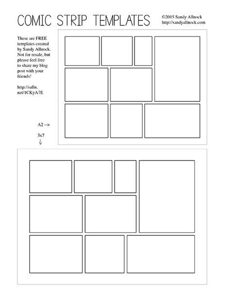 comic strip template comic strip template with speech