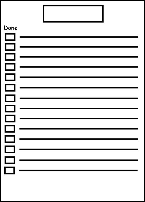40 Printable To Do List Templates Kitty Baby Love Blank Check List Template