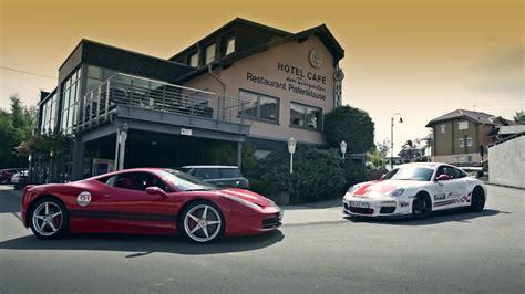 Schmitz Porsche by 458 Italia Vs Porsche Gt3 Rs Nurburgring And A