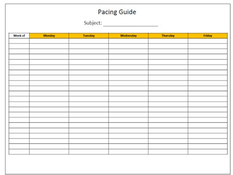 pacing guide template step by step guide to planning your homeschool year tj