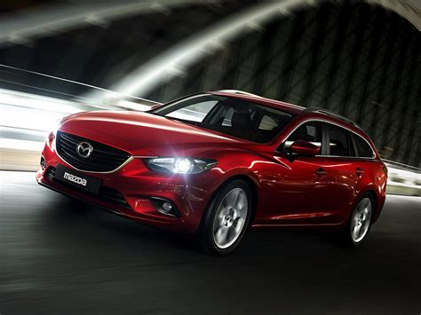 pictures of mazda cars new images of the 2014 mazda6 station wagon carscoops
