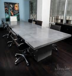Concrete Conference Table Executive Concrete Conference Table
