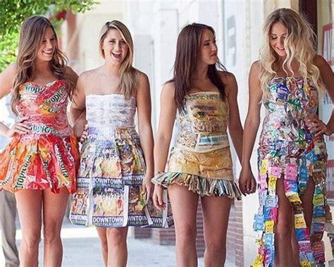 vestidos hechos con materiales reciclados un blog verde vestidos reciclados beneficios e ideas para hacer