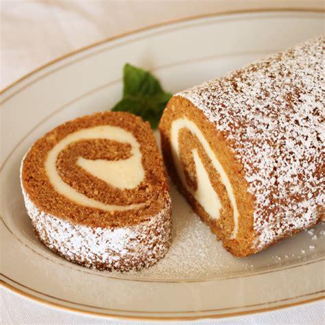 Rollcake Cheese pumpkin cake roll recipe dishmaps
