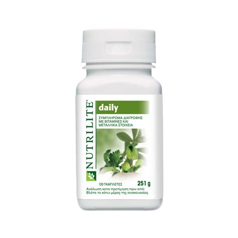 Vitamin Daily Amway Nutrilite Daily Vitamins Home