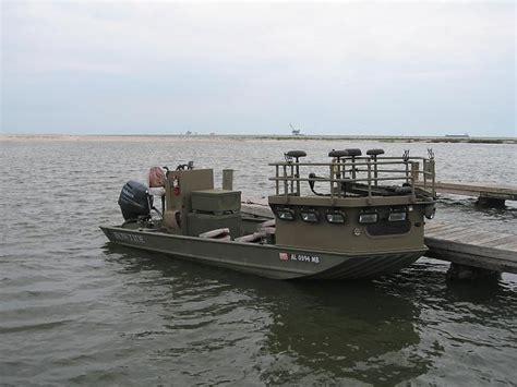 bowfishing boat generator custom built bowfish flounder rig 2072 w 90 yamaha and