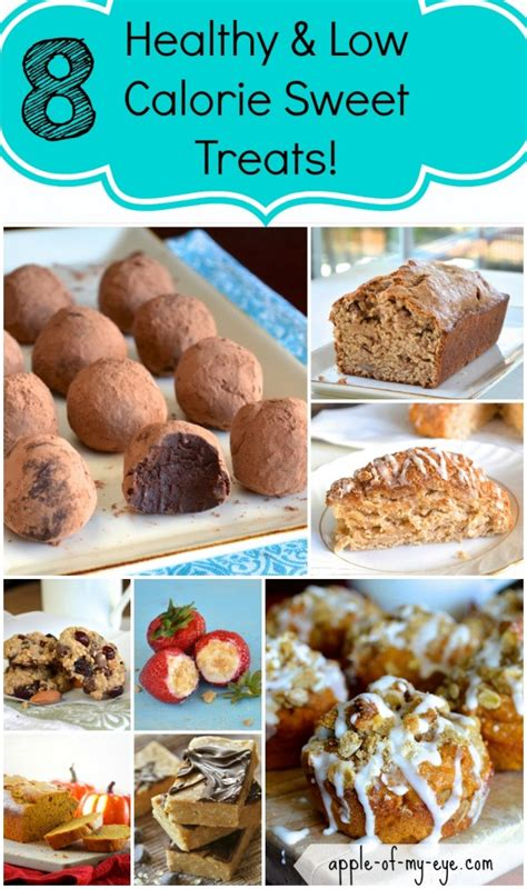 8 Low Sweet Treats healthy and low calorie desserts