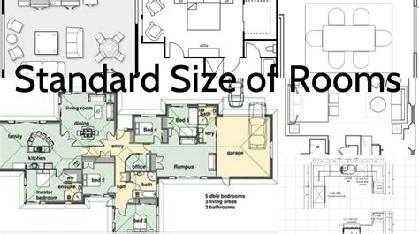 importance  knowing  standard sizes   rooms