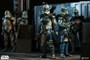 clone trooper wall display armor echo fives you re both officially being made arc