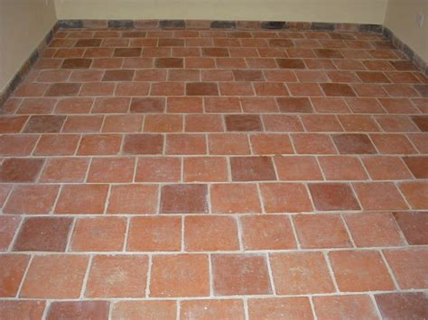 Handmade Floor Tiles - antique handmade terracotta kitchen garden floor tiles