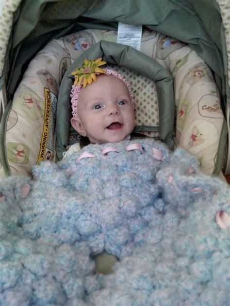 baby car seat blanket crochet pattern car seat bobble blanket allfreecrochet