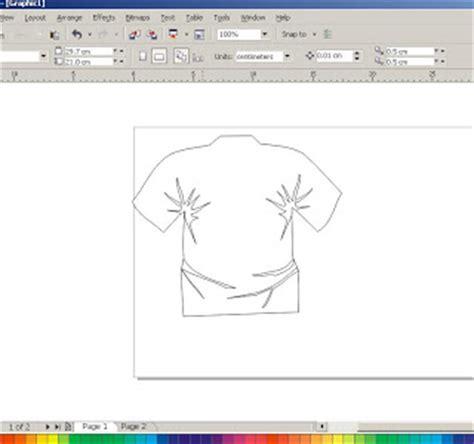 tutorial membuat desain web dengan coreldraw membuat desain baju dengan corel draw tutorial