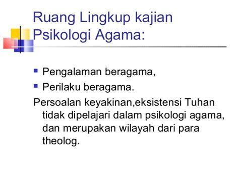 Psikologi Agama 2 psikologi agama 1