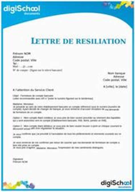 Résiliation Edf Lettre sle cover letter modele de lettre pour donner de ses