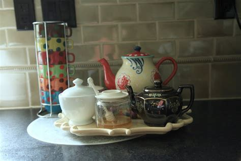 Love Your Space Challenge: How to set up a tea/coffee station