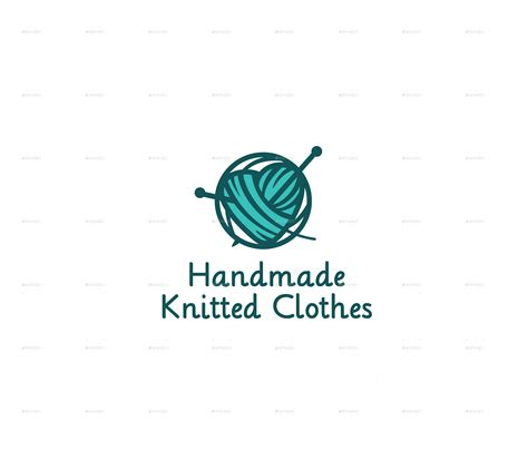 Handcrafted Logo - handmade knitted logo by nattanka graphicriver