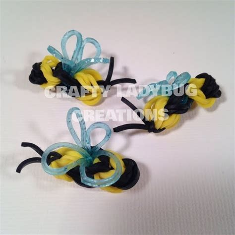 bumble bee rubber st 36 best rainbow loom images on rainbow loom
