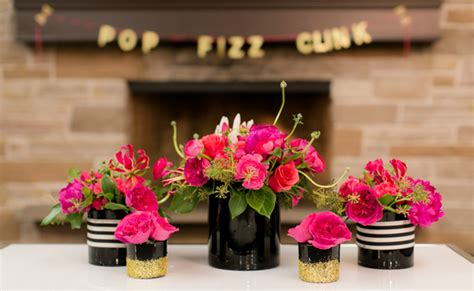 Idea For Home Decoration by Kate Spade Themed 30th Birthday Party