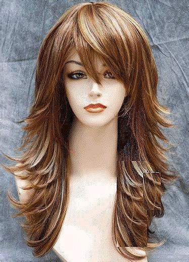 long long hair w lots layers and bangs hair cuts for people with alot of layers 15 ideas of long