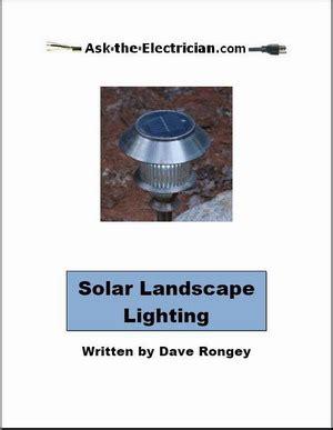 the landscape lighting book solar landscape lighting book