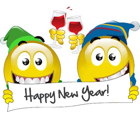 new year emoji happy new year smileys symbols emoticons