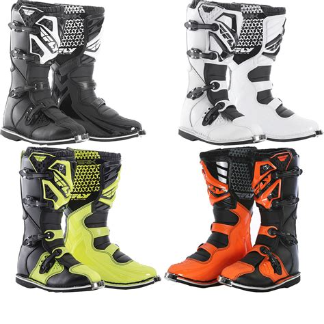 fly racing motocross fly racing 2016 maverik motocross boots mx enduro road