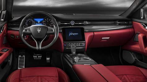 maserati quattroporte interior 2019 maserati quattroporte the race bred luxury sedan