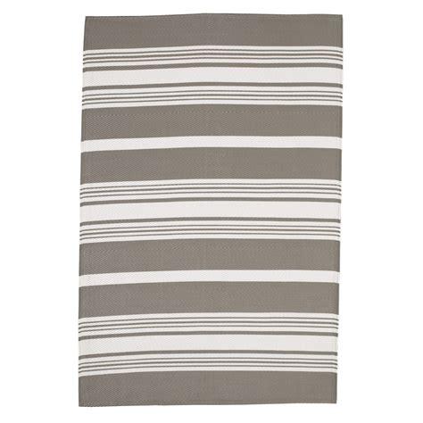 tappeto esterno tappeto per esterni in polipropilene bianco beige 120 x