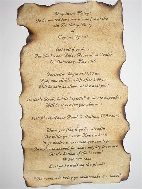 treasure map wedding invitations pirate treasure map invitation birthday boys