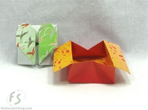Collapsible Origami Box - collapsible box coin purse origami practic