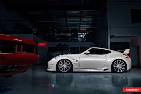 nissan 370z custom paint all tuning cars nz 2013 nissan 370z by vossen wheels