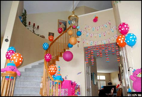 birthday decorations at home photos plan a birthday surprise in a budget