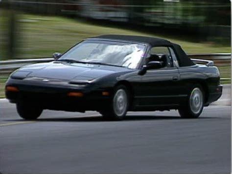 92 nissan 240sx motorweek retro review 92 nissan 240sx convertible
