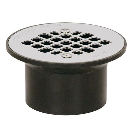 Floor Strainer sioux chief 2 in x 3 in black abs floor drain with strainer 840 2apk the home depot