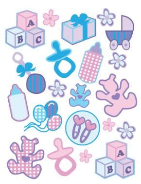 baby scrapbook templates free printable free printable scrapbooking stickers lovetoknow