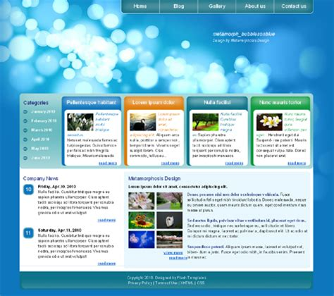 html themes for website free 15 html web templates free download images html website