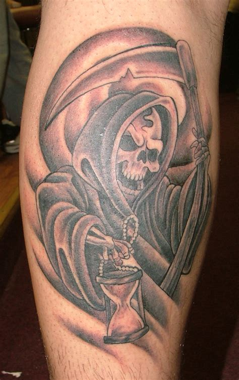 reaper tattoo grim reaper by b3rserker on deviantart