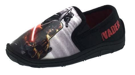 star wars light up shoes boys star wars light up slippers slip on mules shoes darth
