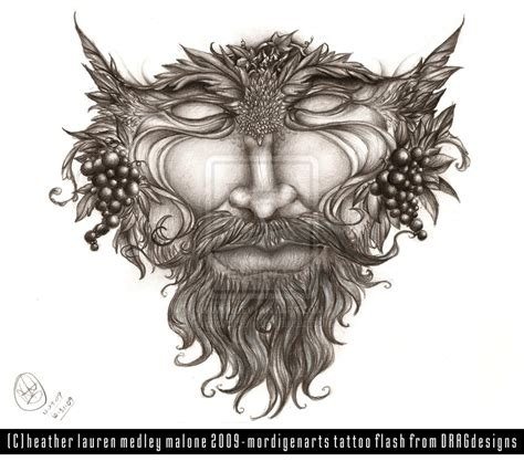 green man tattoo designs design greenman