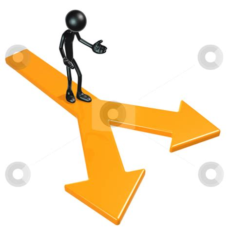 Doing Options The Right Way 2 by Two Paths Choices Stock Photo