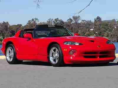 dodge viper 1998 dodge viper rt 10 for sale 1777351 hemmings motor news occasion le parking purchase used 1998 dodge viper rt 10 450hp 6 speed 1 owner like new in san diego california