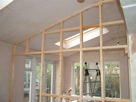 construire une cloison 224 ossature bois l atelier bois