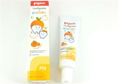 Pasta Gigi Pigeon review pigeon toothpaste orange flavor yukcoba in