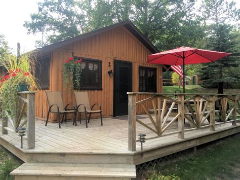 Clear Lake Cabin by Clear Lake Resort Cabin Two Lake Front One Bedroom Log