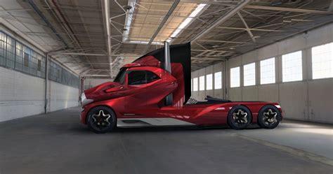 concept semi truck this future truck