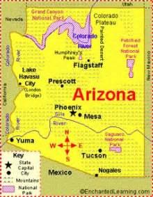 rivers in arizona map map of colorado river in arizona my