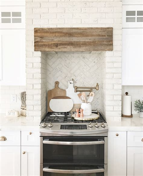 painted brick backsplash beautiful homes of instagram home bunch interior design ideas