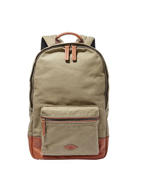 Fossil Phoeboe Backpack Colorfull New lyst fossil estate backpack in green for