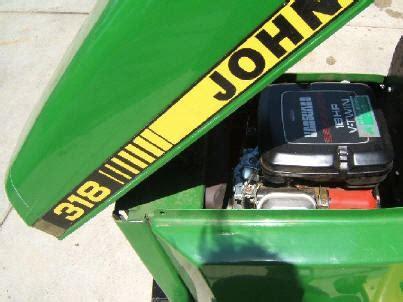 John Deere 318 John Deere 318 Lawn Tractor