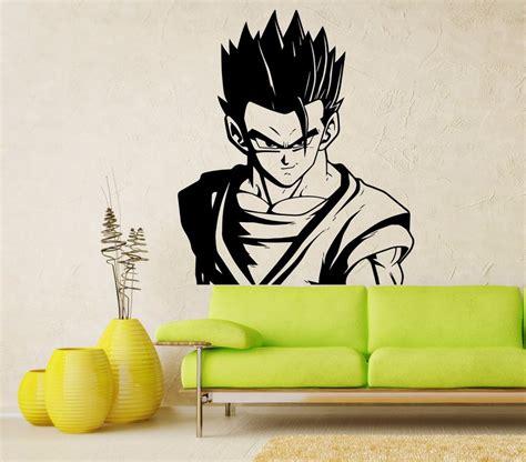 Dragon Wall Mural adult gohan vinyl wall decal dragon ball z dbz anime